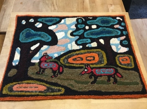 A rug by Susan