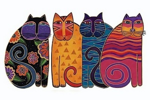 New Pattern by Laurel Burch